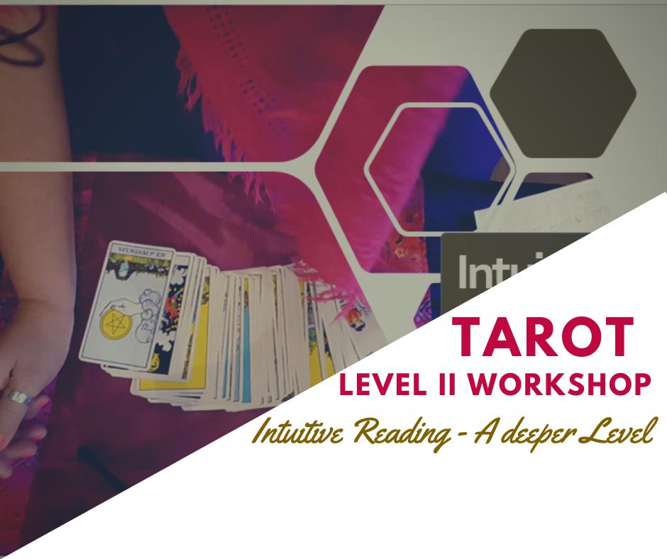 Intuitive Tarot Level II – LIVE Course